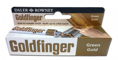 Daler Rowney - Goldfinger, green gold