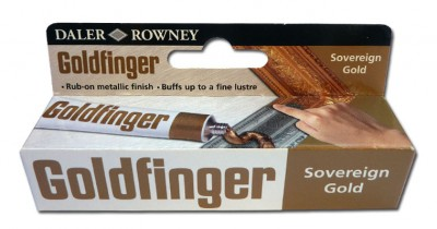 Daler Rowney - Goldfinger, sovereign gold