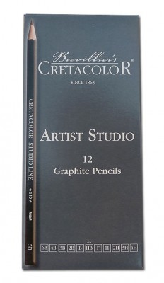 Cretacolor - Artists Studio, sada graf. ceruzky 12 ks